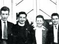 Eddie McGarity, Dermot Hegarty, Eamon Regan, Terence Gilmore